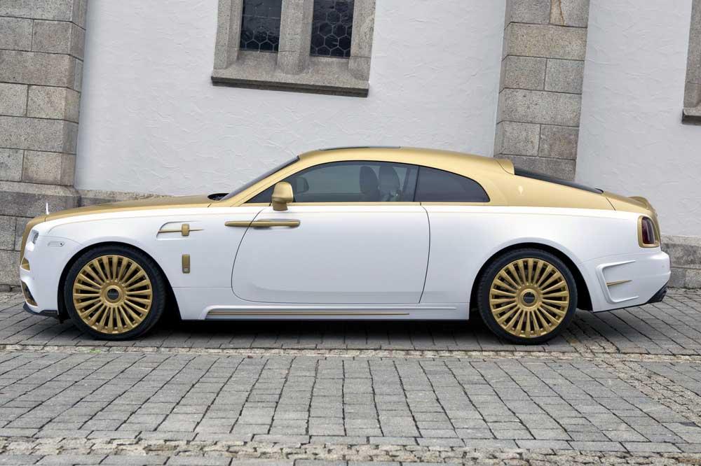 Rolls-Royce Wraith Bertabur Emas, Semakin Mewah