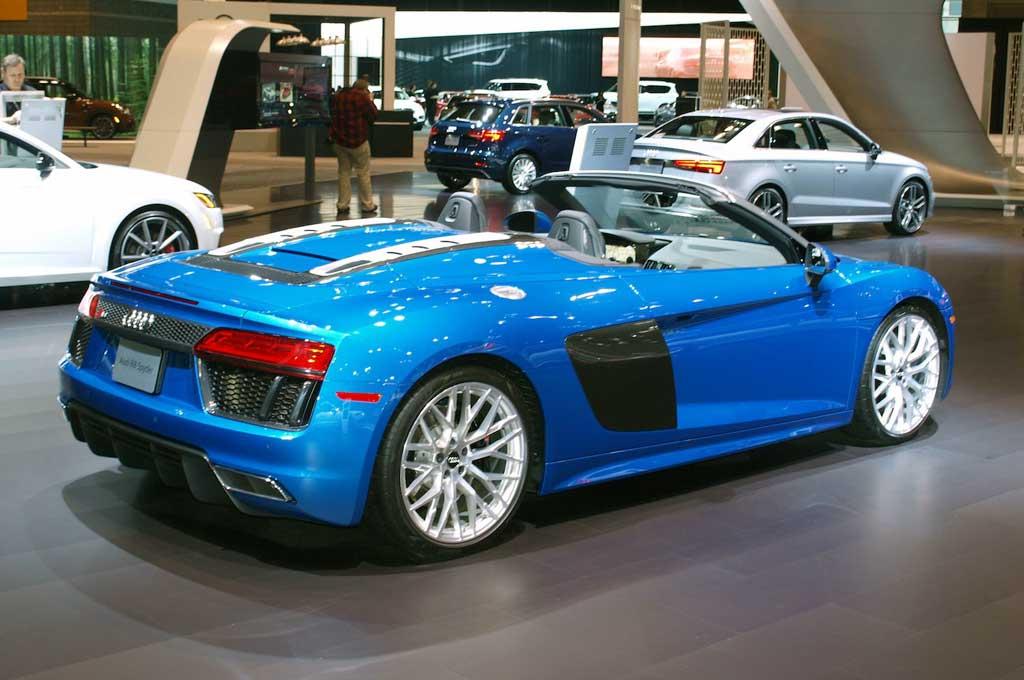 R8 V10 Spyder Senjata Audi Di Chicago Auto Show 2017
