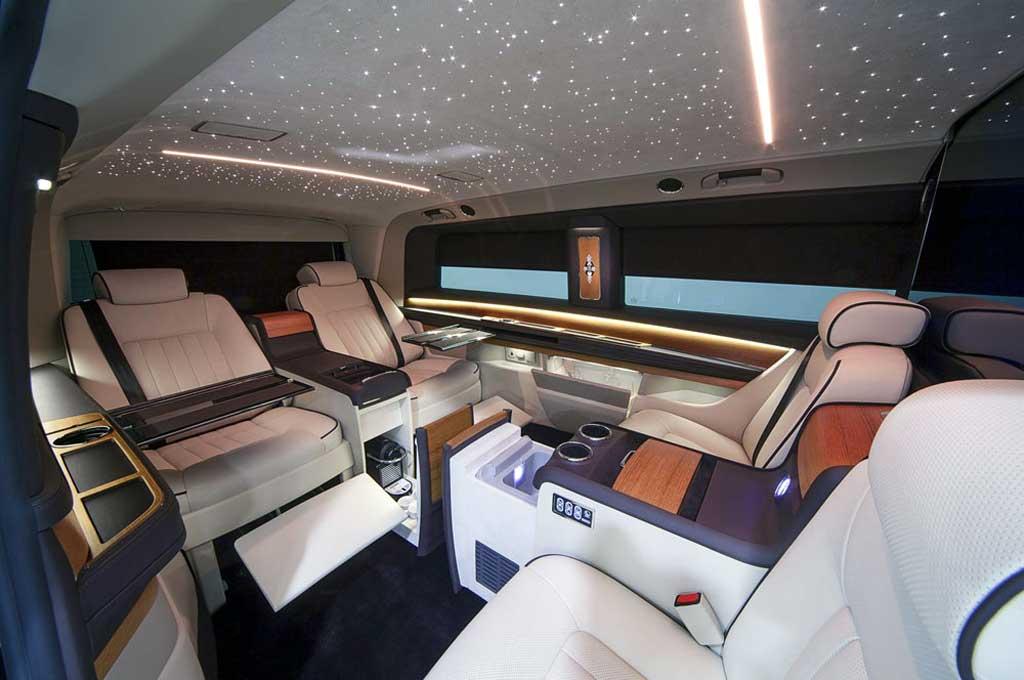 OKCU Hadirkan Sensasi Jet Pribadi di Mercedes-Benz V-Class