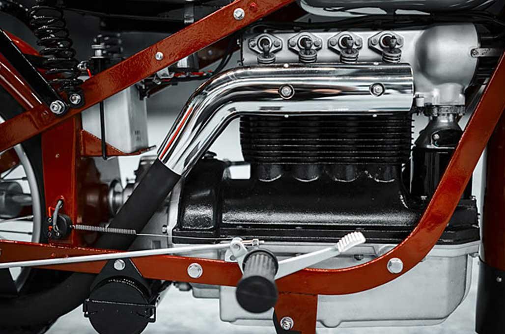 Nimbus 750 1938, Eksotika Motor Pembuat Vacuum Cleaner