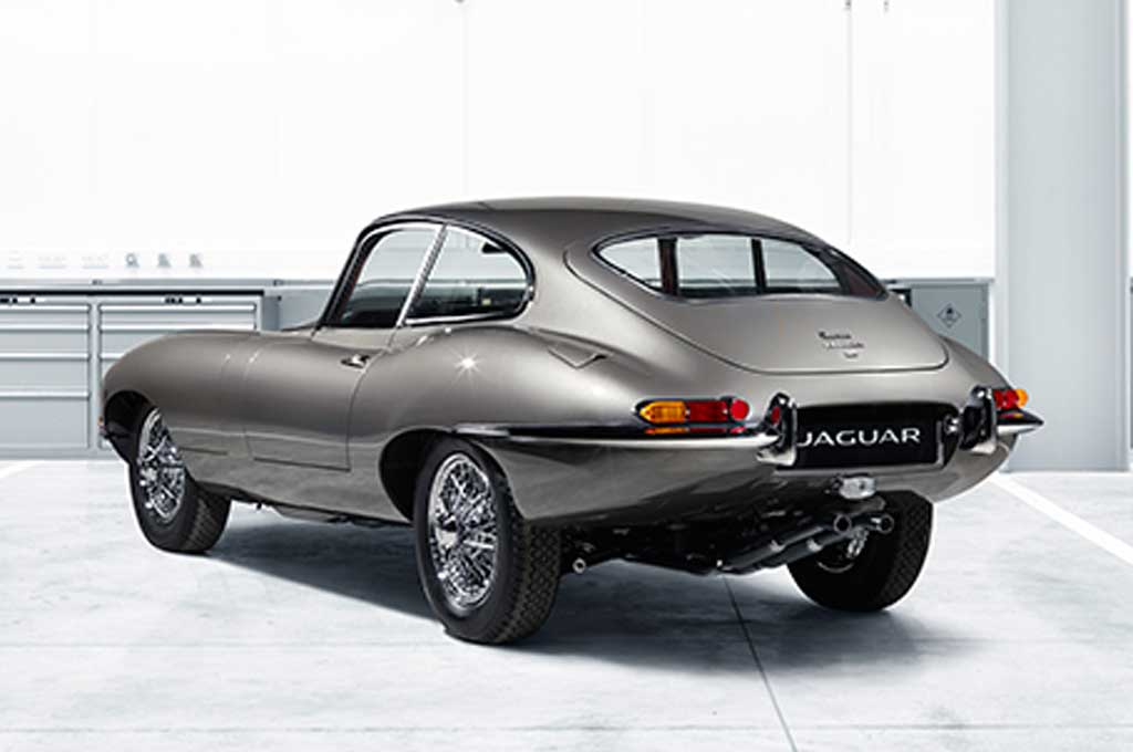 Jaguar E Type >> Jaguar E Type Reborn Siap Debut Di Techno Classica Essen Show