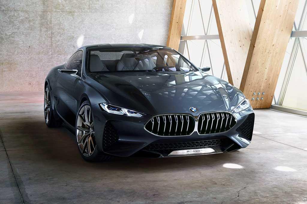 Bmw 500 Series >> Bmw Concept 8 Series Pesaing S Class Dan Lexus Lc 500