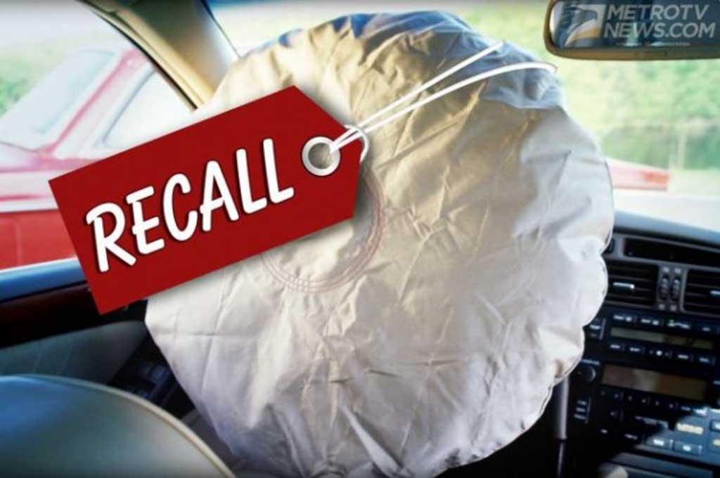 Takata Tambah <i>Recall</i> 2,7 Unit <i>Airbag</i> Bermasalah