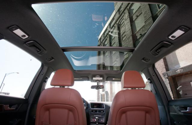 Audi Riset <i>Sunroof</i> Penghasil tenaga Listrik