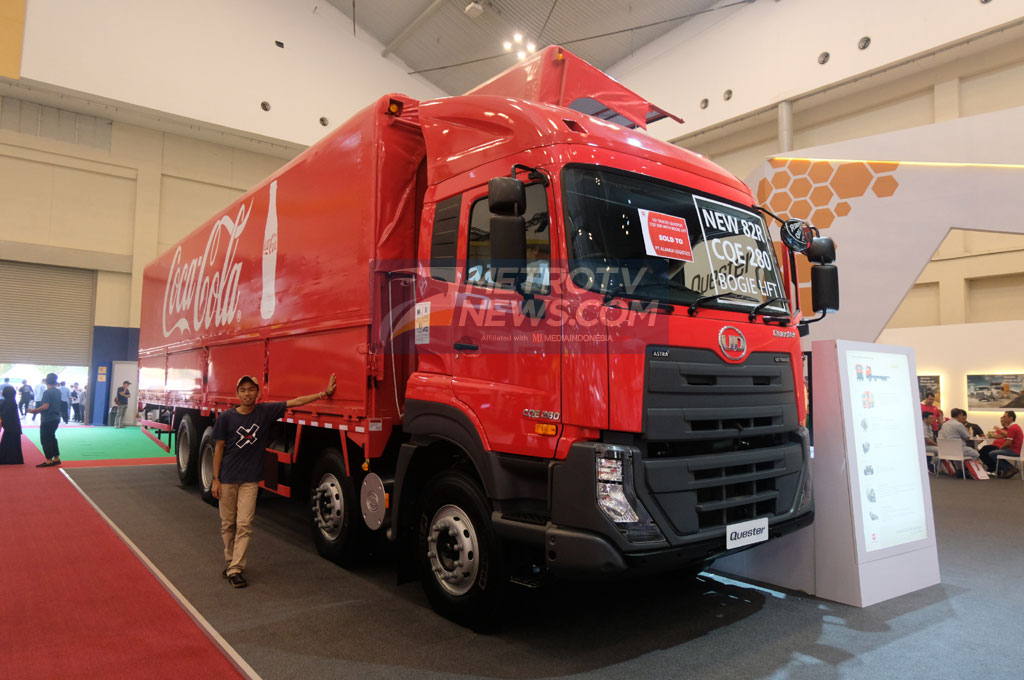 UD Trucks Lengkapi Varian Quester degan 82R