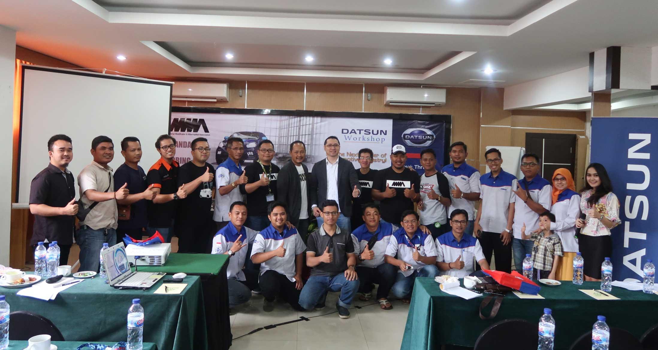 Datsun Ramaikan Industri Modifikasi di Palembang