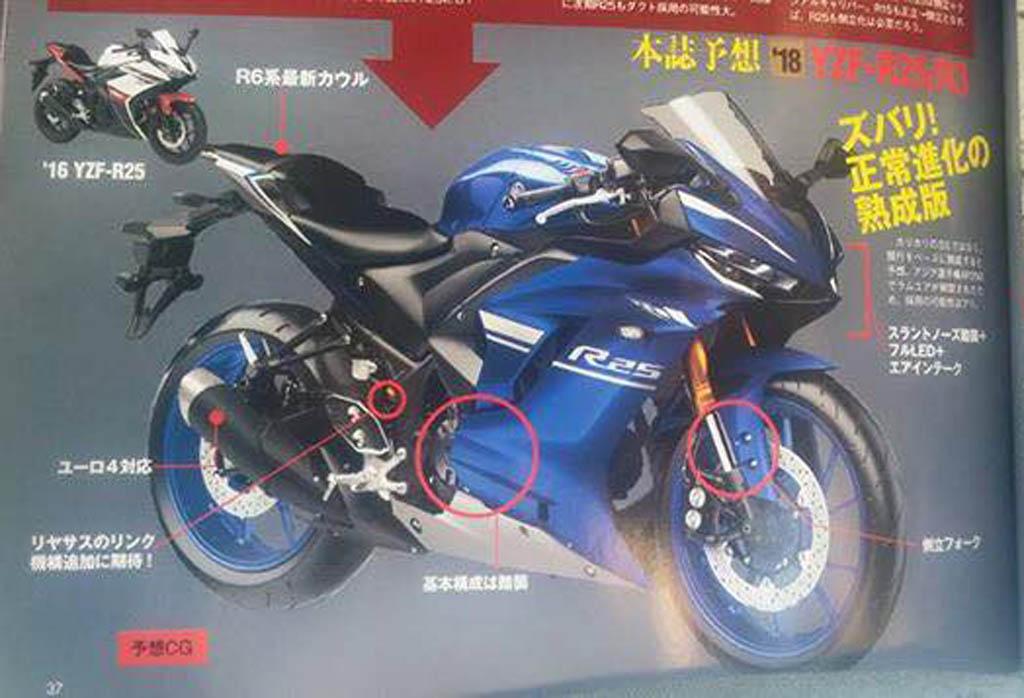 Yamaha Yzf R25 Terbaru Bakal Debut Di April