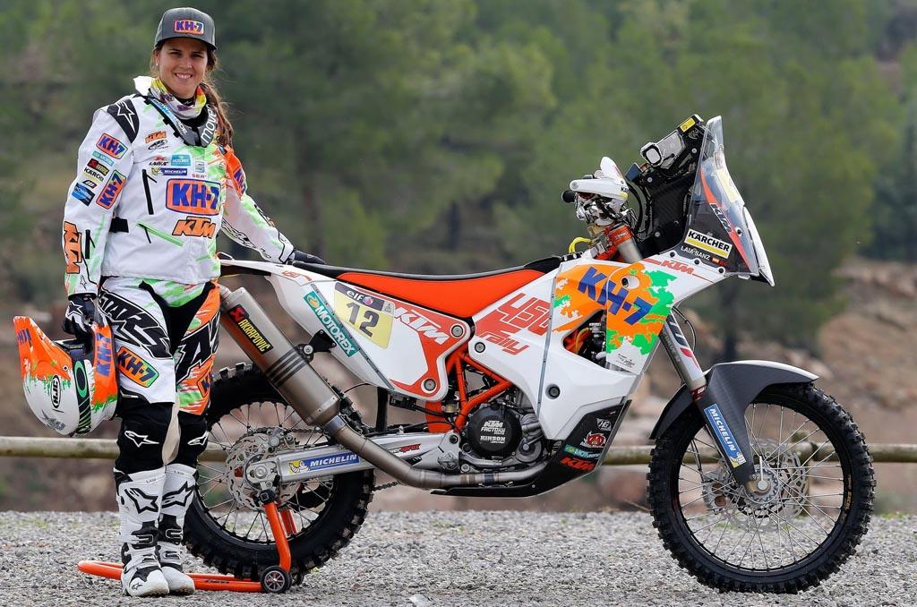 Laia Sanz, Rider Wanita Terkonsisten di Dakar Rally