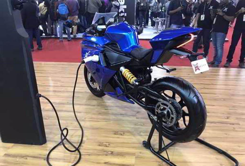 Emflux Motors Hadirkan Superbike Bertenaga Listrik