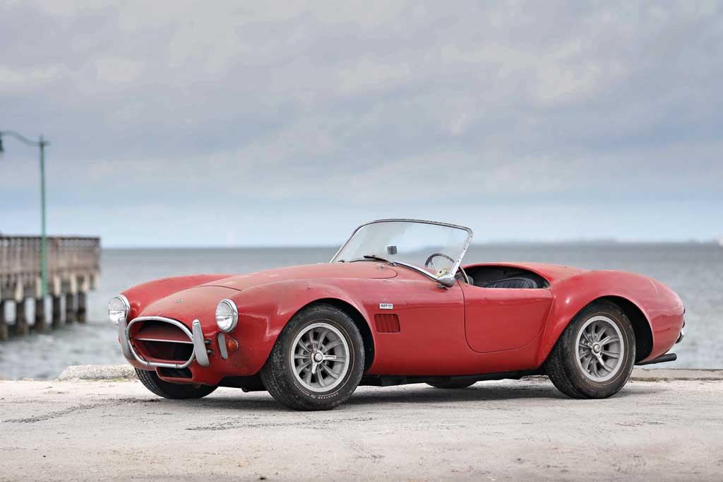 Gooding & Comp Temukan Ferrari dan Shelby Langka