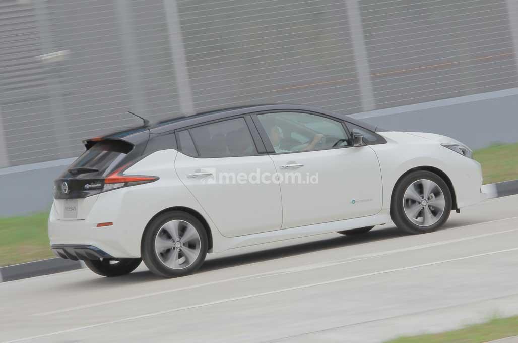 New Nissan Leaf, Tawarkan Sensasi Mobil Balap