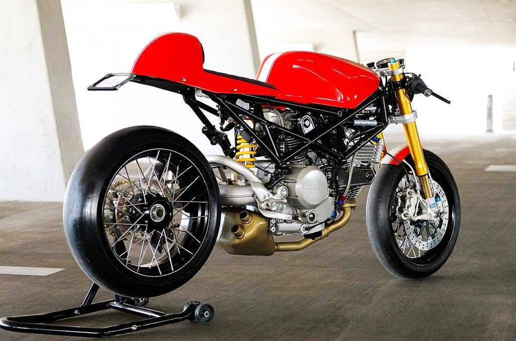 Ducati S2R Cafe Racer, Cohn Racers Punya Gaya
