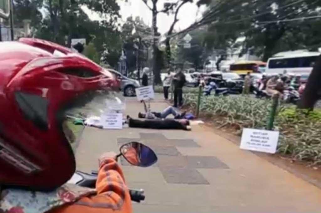 Pengendara Wajib Jaga Hak Pejalan Kaki