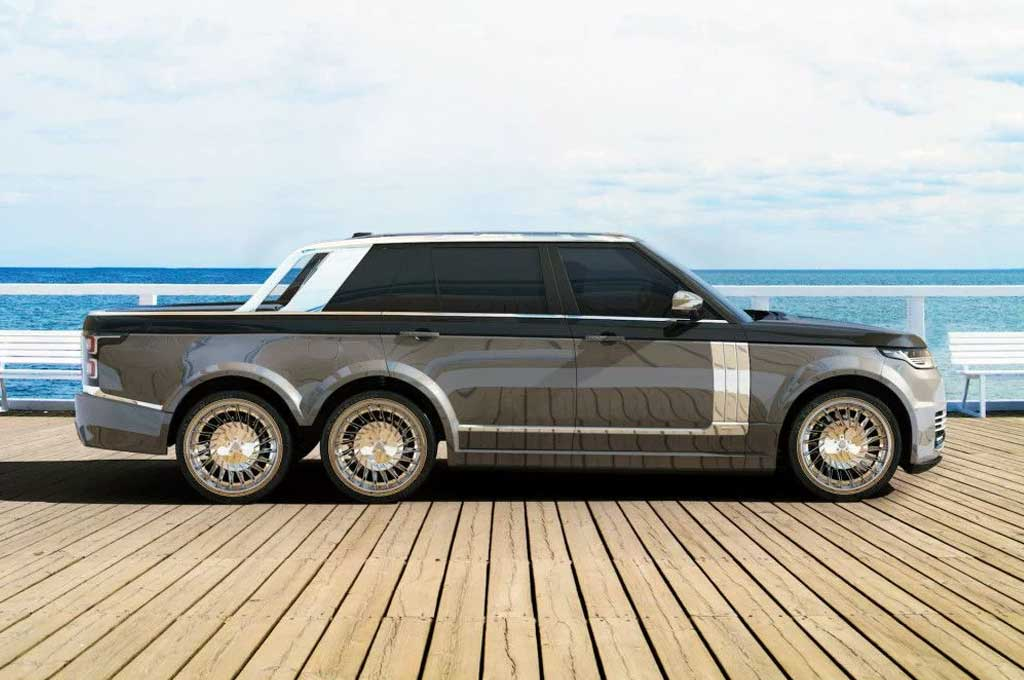 76+ Modifikasi Mobil Pick Up Eropa HD Terbaik