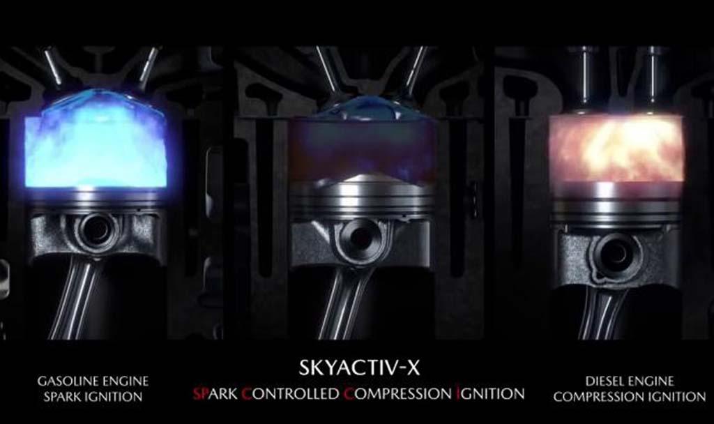 Mesin Mazda Skyactiv-X Mirip Mesin Diesel?