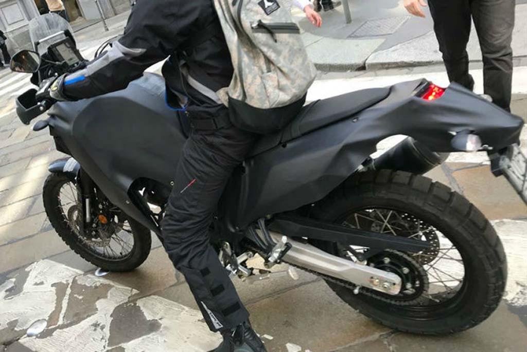 Sosok Yamaha Tenere 700 Prototype Terlihat di Milan