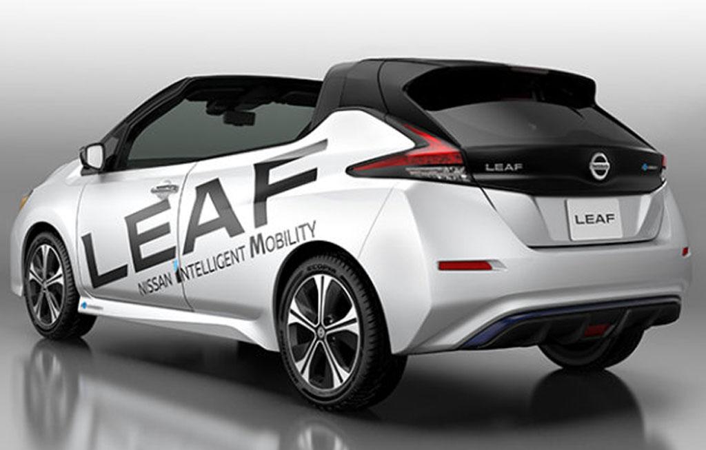Nissan Leaf Open Car, Edisi Khusus 100 Ribu Unit di Jepang