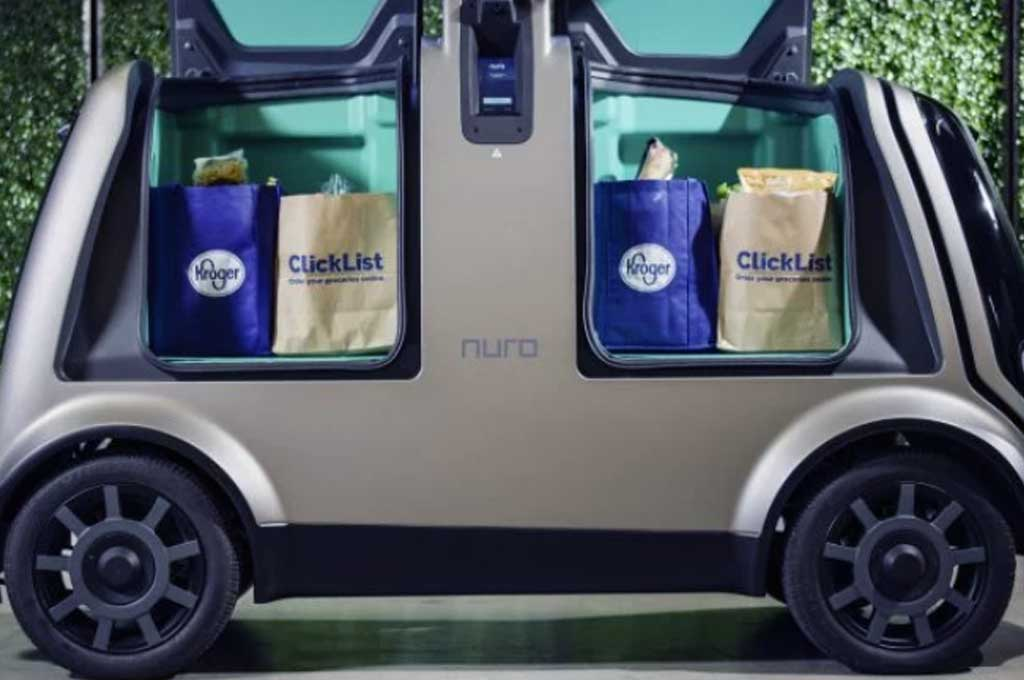 Kroger dan Nuro, Mobil Otonom Layanan Pengantar Barang