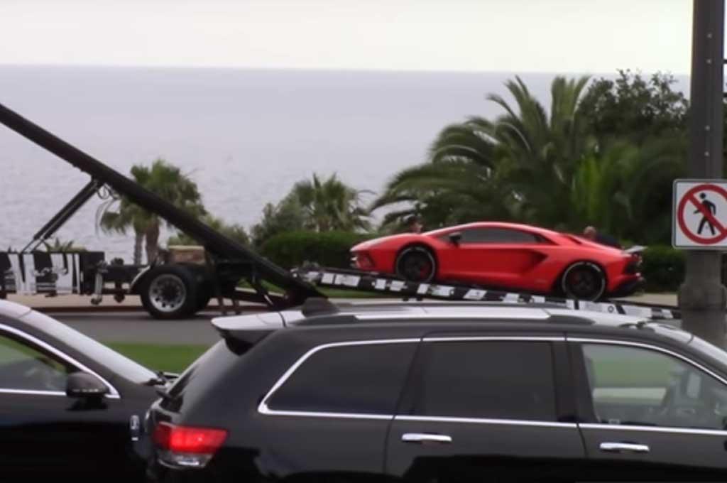 Justin Bieber Pamer Lamborghini Aventador S Baru