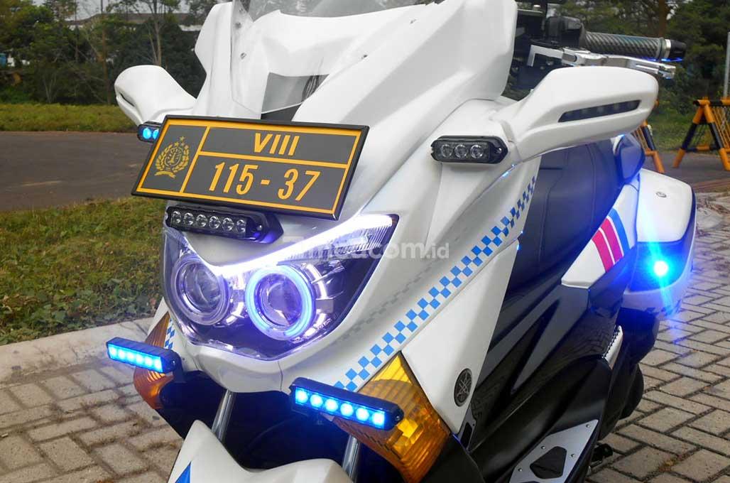 Yamaha Nmax 2015 Bergaya Polisi Ala Fiekry