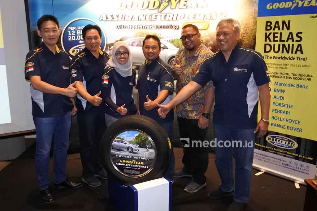 Goodyear Suntik Teknologi Hydrotread di Assurance Triplemax