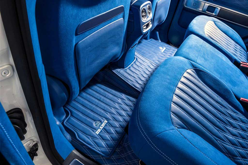 Interior Mercedes-AMG G63 Tenggelam dalam Balutan Warna Biru