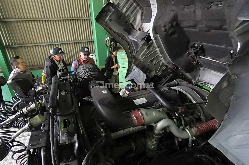 Ganti Mesin Mobil Truk, Bisa Dilakukan di UD Truck Jepang