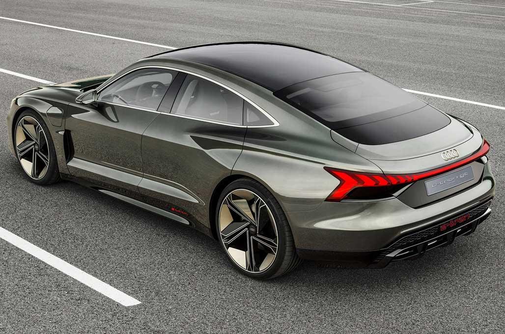 Audi e-tron GT Concept, Debut Dunia di LA Auto Show