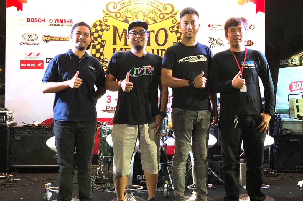 Balap Motor 2-tak Indoclub, Terinspirasi dari VR46 Riders Academy