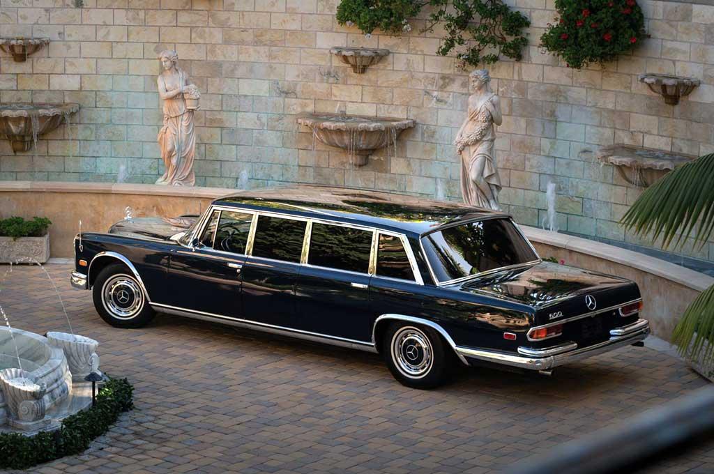 Jejak Kejayaan Limusin Mercedes-Benz 600 Pullman Klasik 1969