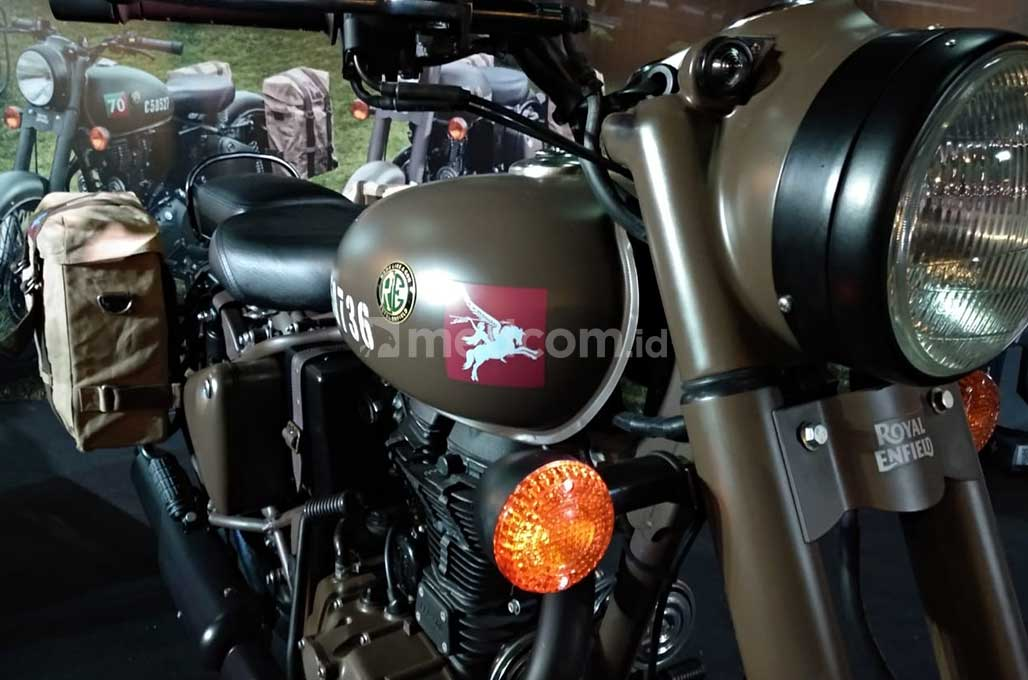 Royal Enfield Hadirkan Motor Perang Classic 500 'Pegasus'