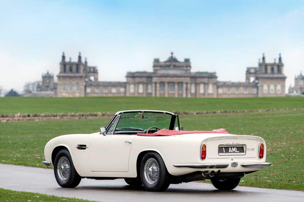 Aston Martin Konversi Mobil Klasik Bertenaga Listrik