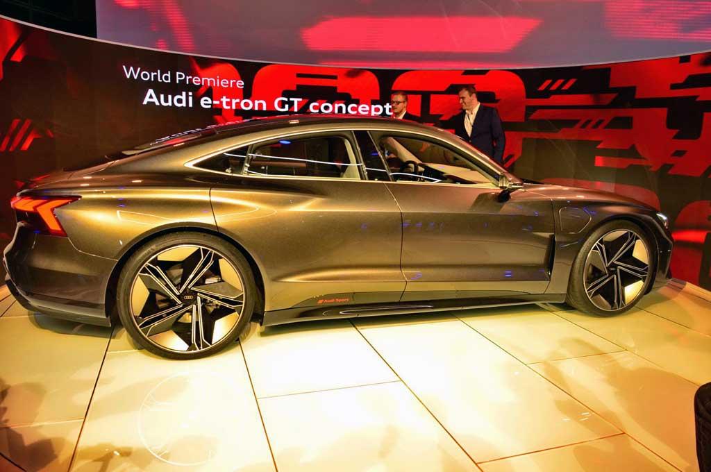 Audi E-Tron GT Concept Bakal Promosi Lewat Avengers-4