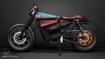 Motor Listrik Denzel ECR V1, Terinspirasi Honda Jadul