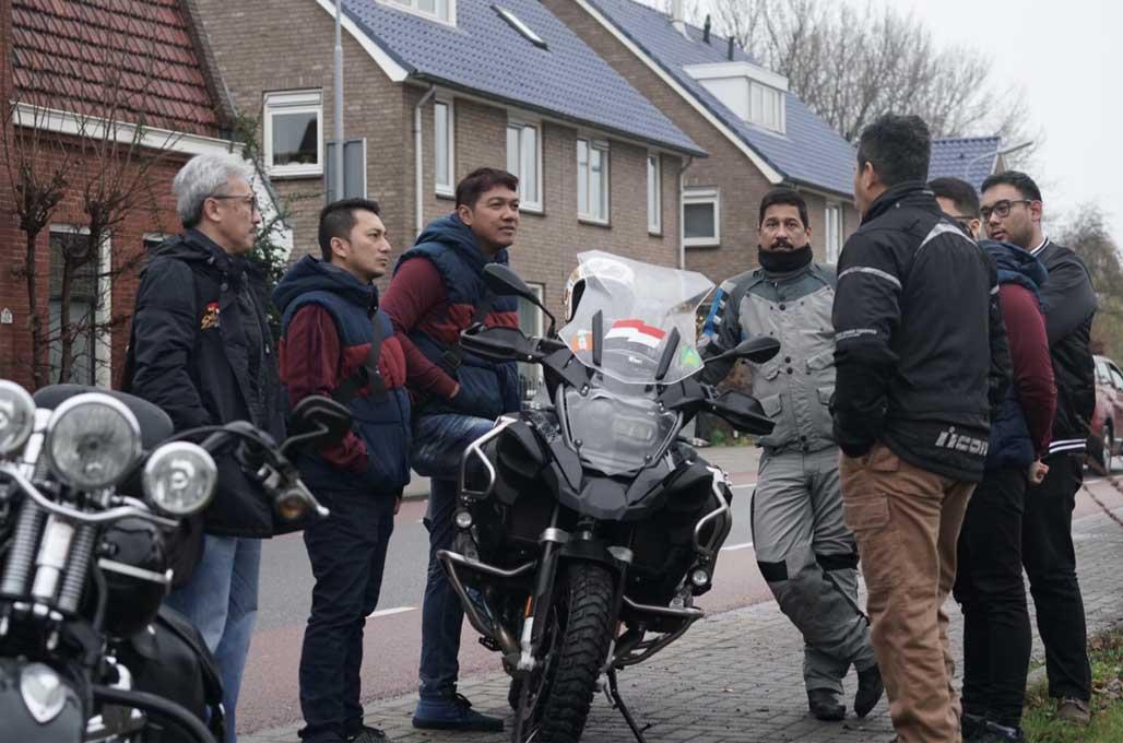 Riding Seru Builder Nasional di Amsterdam