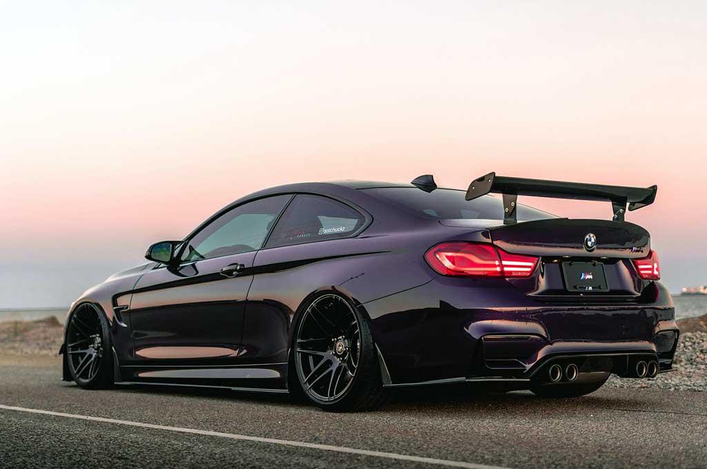 Ubah Tampang BMW M4 Makin Ganteng dengan Modif Ringan