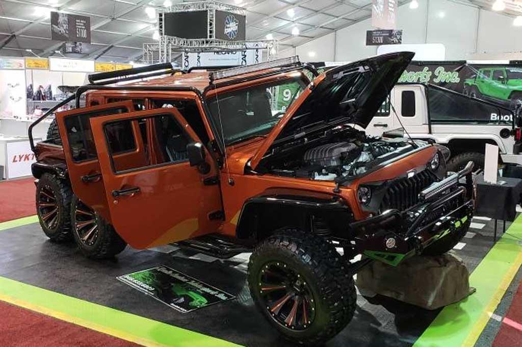 Jeep Wrangler JK 2017 ala Wild Boar Off-road
