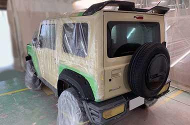 Suzuki Jimny ini, Sukses Tiru Tampang G-Class