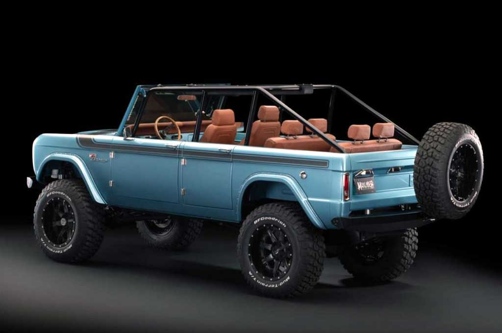 Ford Bronco Eksotis ala Maxlider Brothers Customs