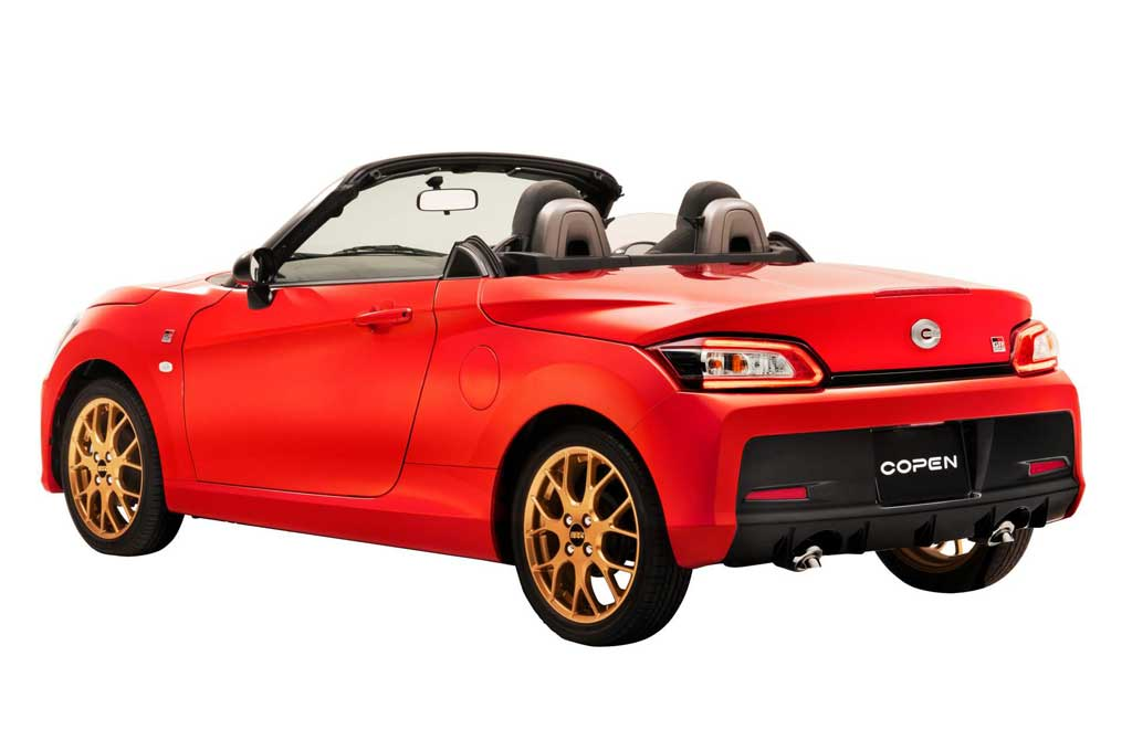 Daihatsu GR Sport dan Copen Cero Sports Premium Mejeng di TAS