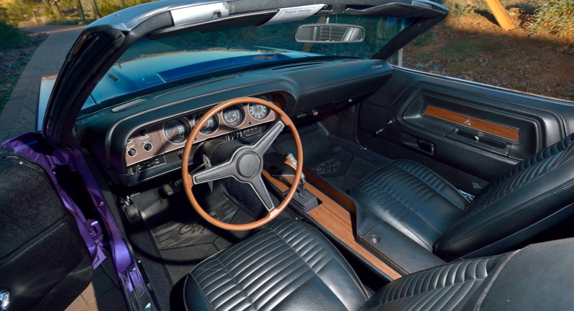 Dodge Hemi Challenger R/T Convertible 1970, Klasik nan Keren
