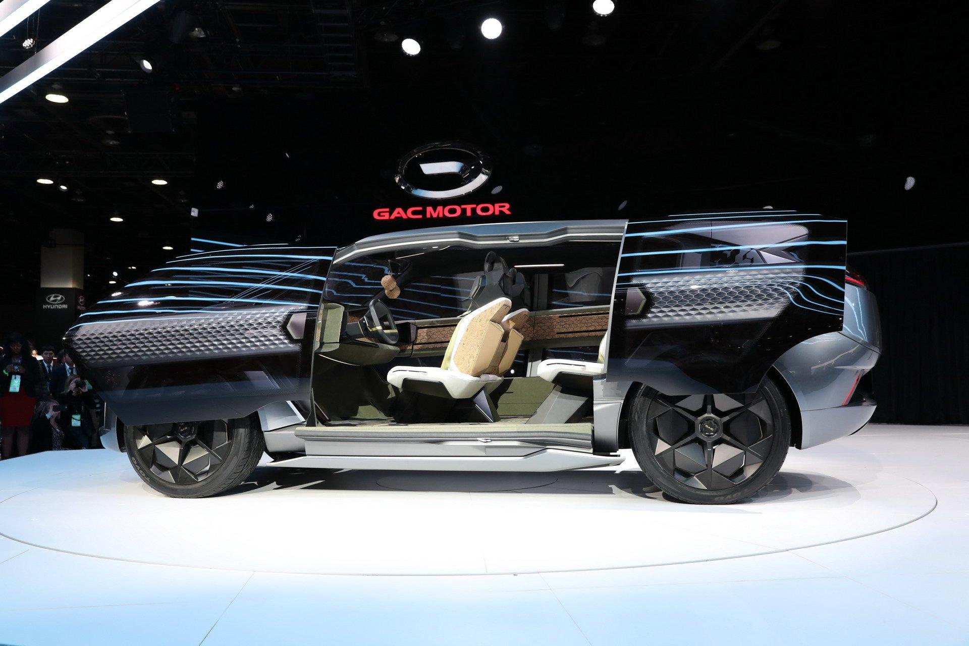 Mobil Konsep Tiongkok, GAC Entranze Concept Unjuk Gigi di Amerika