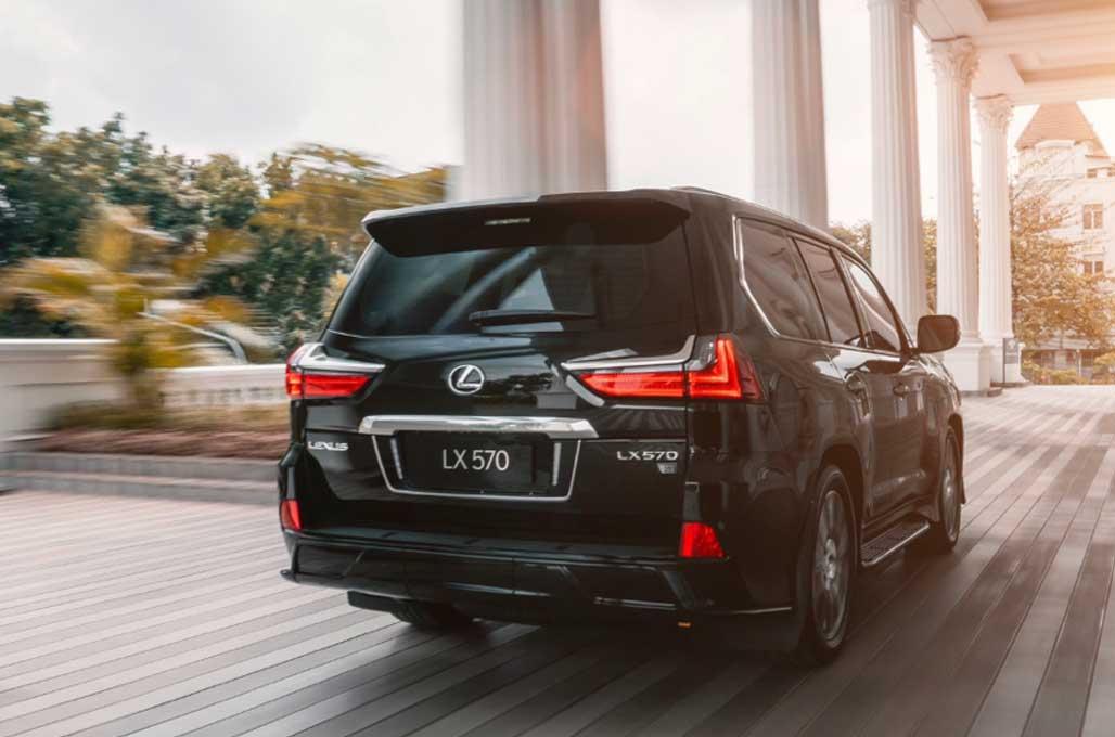 Varian Terbaru Lexus LX 570 Sport, Mengaspal di Indonesia
