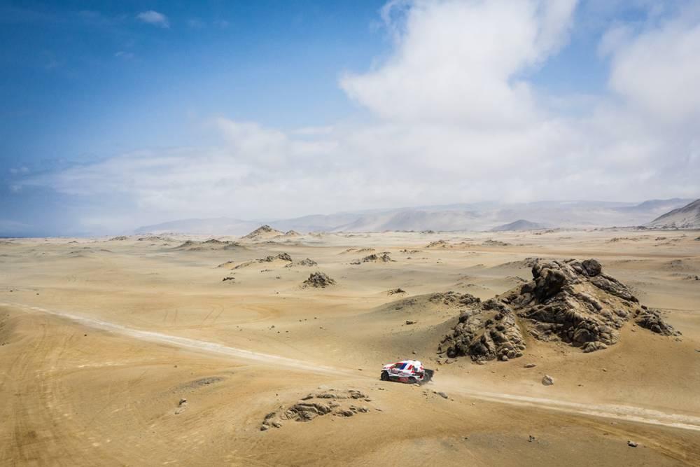 Sebastien Loeb Kuasai Rute di Etape-8 Dakar Rally