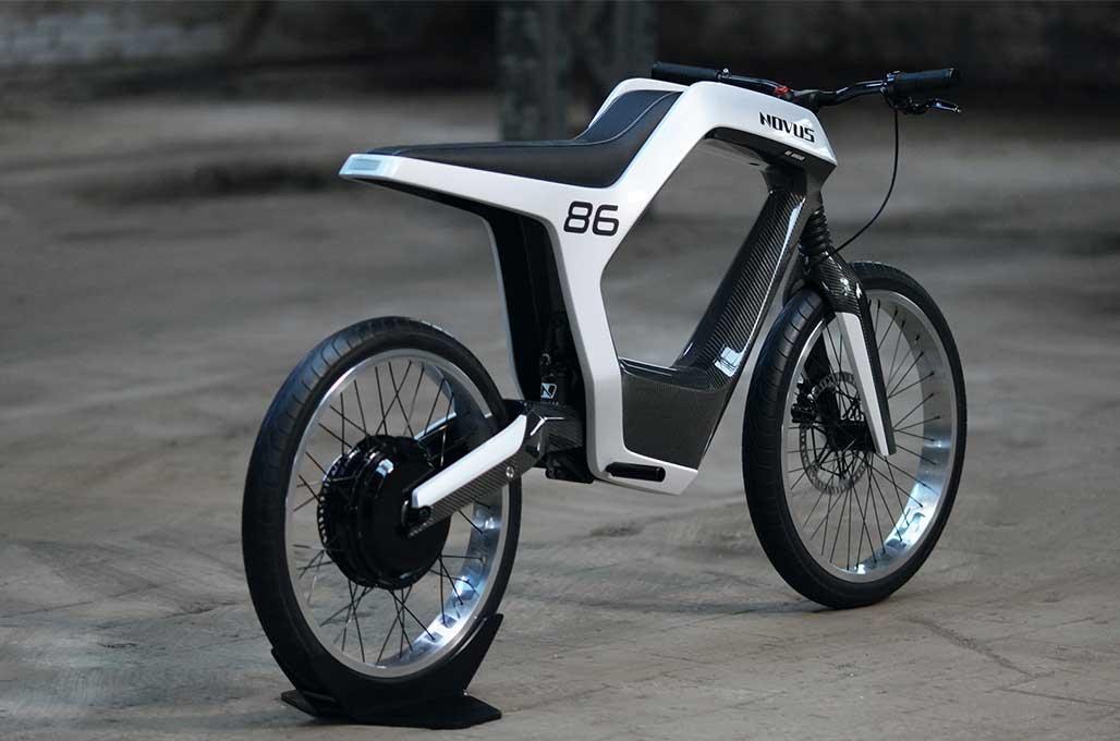 Motor Listrik dari Novus, Ringkas nan Futuristik