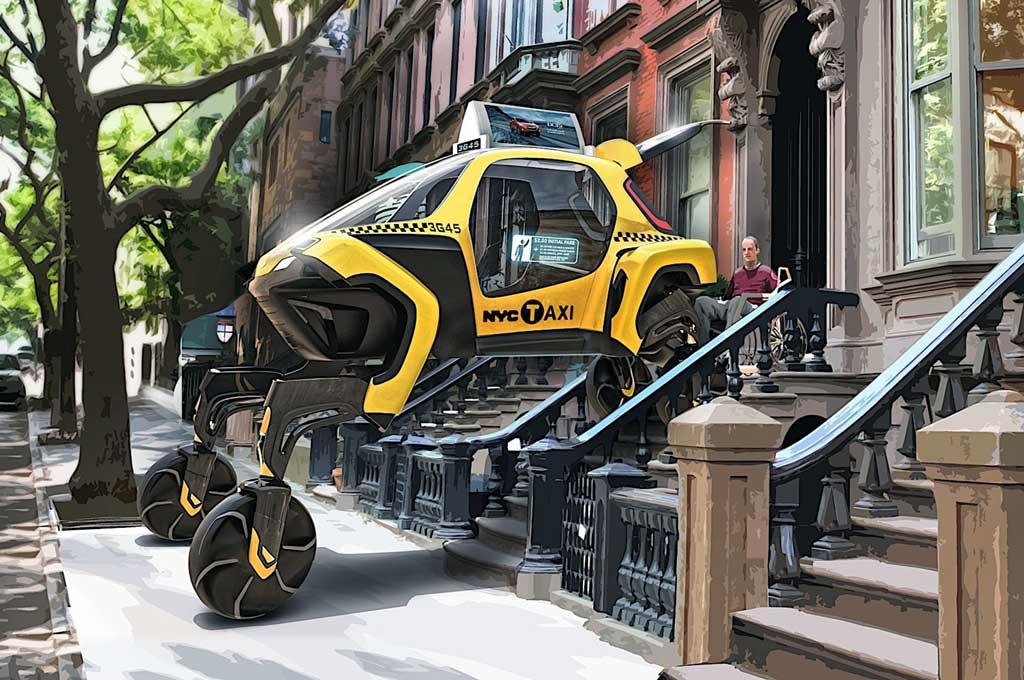Elevate Concept, Mobil Robot Hyundai yang Berjalan ala Mamalia