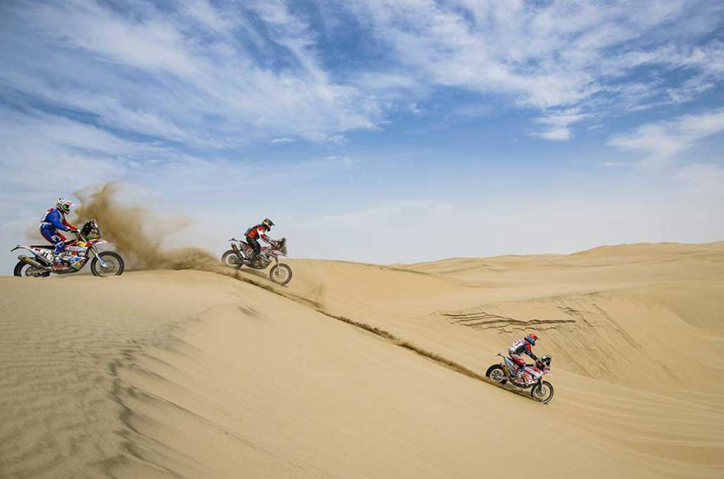Walkner Mulai Panas di Etape-2 Dakar Rally