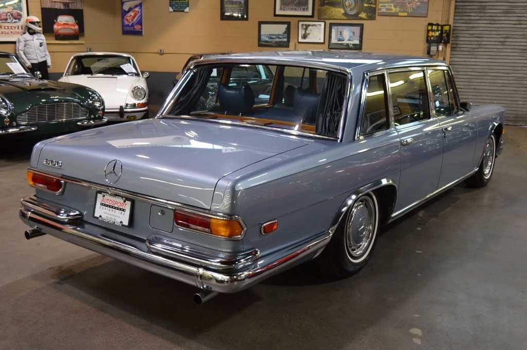 Mercedes-Benz 600 Grosser 1972 Klasik, Koleksi Langka nan Eksotis