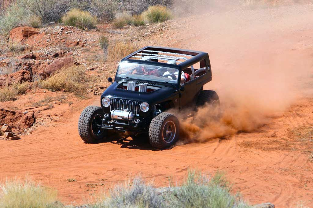 Gaya Hot Rod nan Keren ala Jeep Quicksand