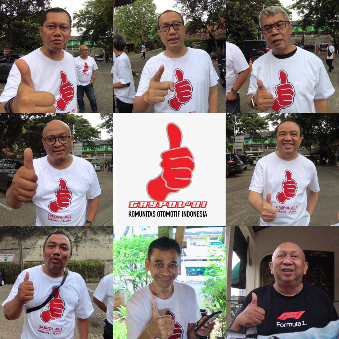 Etos Kerja jadi Alasan Komunitas Otomotif Indonesia Dukung Jokowi